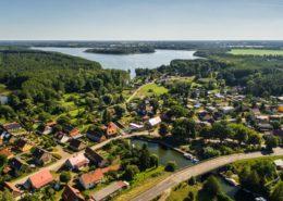 Luftaufnahme Altfriesack