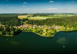 Panorama-Luftaufnahme Binenwalde & Kalksee