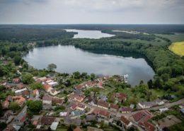 Luftaufnahme Flecken Zechlin & Schwarzer See