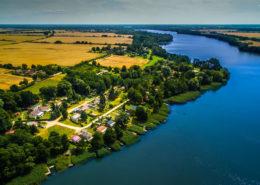Luftaufnahme Seehof & Ruppiner See